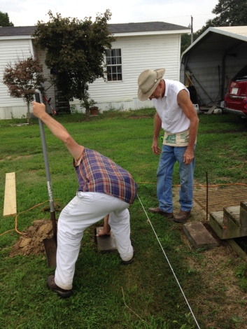 Checking the ground work