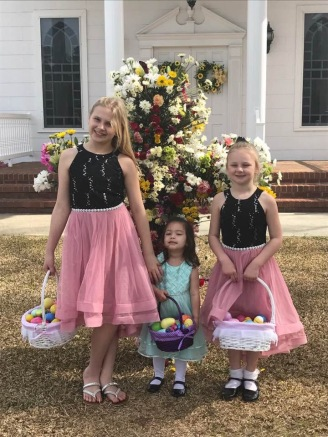 A perfect backdrop for Easter pictures